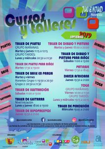 Ayuntamiento de Novelda Cursos-Invierno-212x300 Juventud pone en marcha los Cursos y Talleres de Invierno