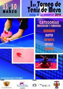 Ayuntamiento de Novelda Cartel-Ier-Torneo-Tenis-de-Mesa-2-212x300 Juventud y el Club de Tenis de Mesa de Novelda organizan el I Torneo de Tenis de Mesa