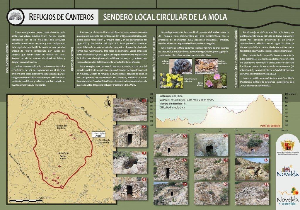 Ayuntamiento de Novelda Sendero-circular-La-Mola-Refugios-de-canteros-1024x716-1024x716 Rutes