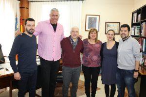 Ayuntamiento de Novelda IMG_0682-ayto-300x200 El Ayuntamiento recibe a los organizadores del Campus Joe Arlauckas