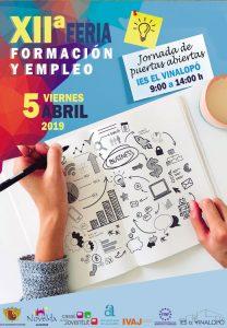 Ayuntamiento de Novelda feria-empeo-208x300 El IES Vinalopó acoge la XII Feria de Formación y Empleo