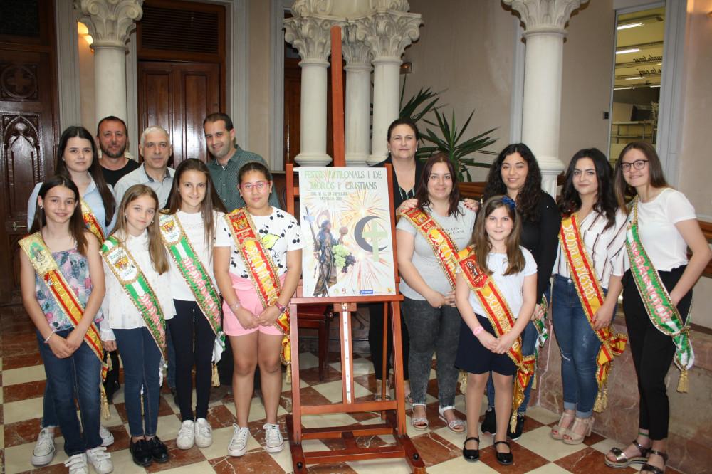 Ayuntamiento de Novelda cartel-fiestas-023-ayto-1 Xavi Sellés, autor del cartel anunciador de las Fiestas Patronales y de Moros y Cristianos 2019