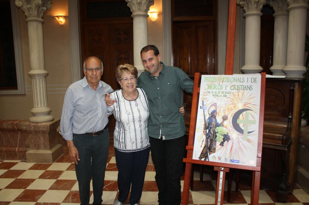 Ayuntamiento de Novelda cartel-fiestas-028-ayto-1 Xavi Sellés, autor del cartel anunciador de las Fiestas Patronales y de Moros y Cristianos 2019