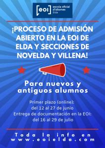 Ayuntamiento de Novelda matricula-illa-212x300 Educación