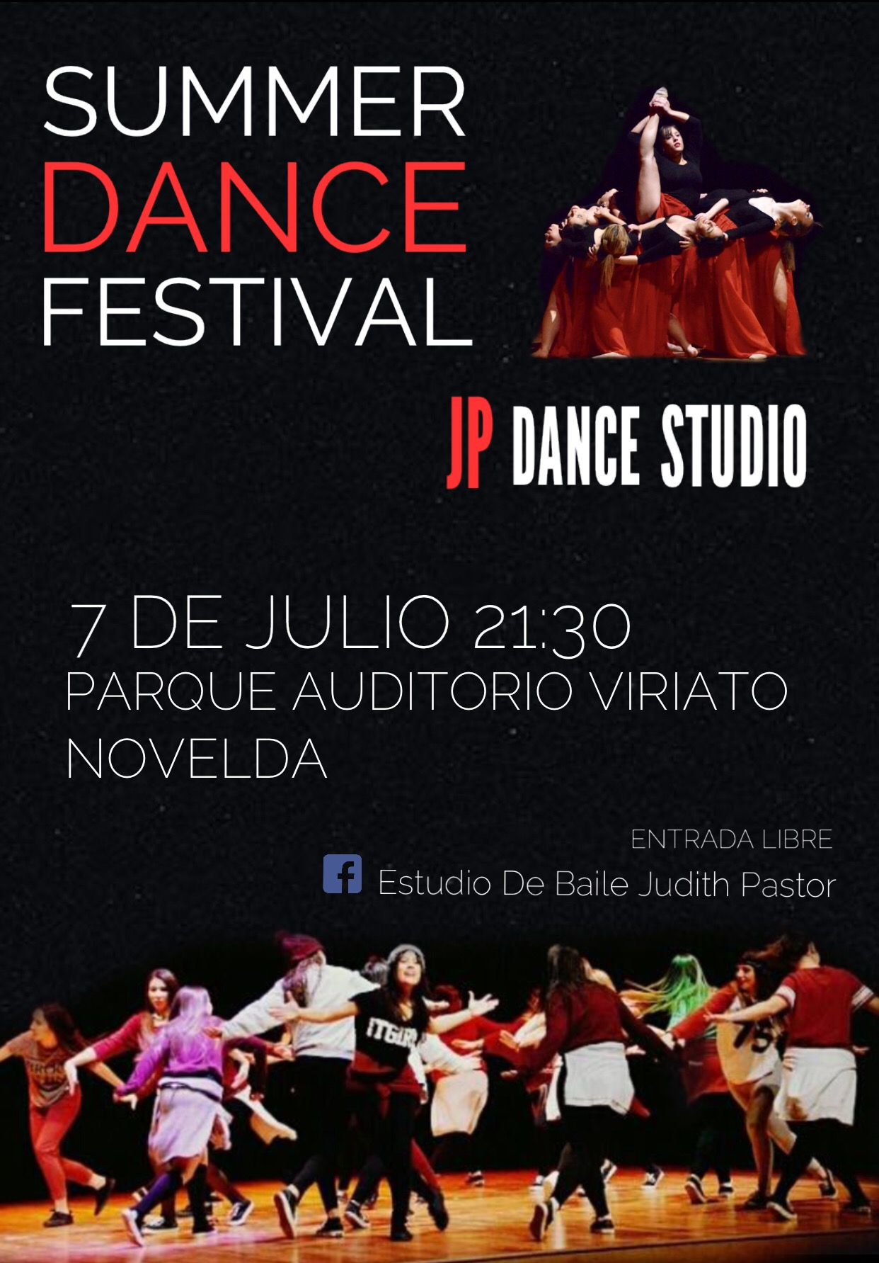 7 julio danza Judith