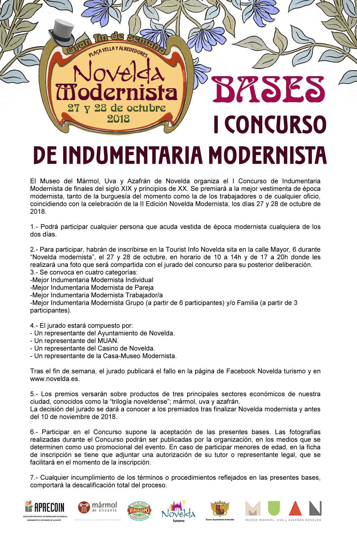 BASES I CONCURSO INDUMENTARIA MODERNISTA 2018 (1)-1 copia