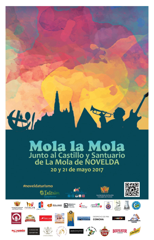 Cartel Mola la Mola Novelda mayo 2017