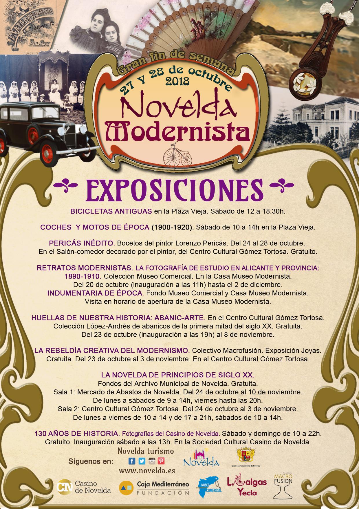 EXPOSICIONES Novelda modernista