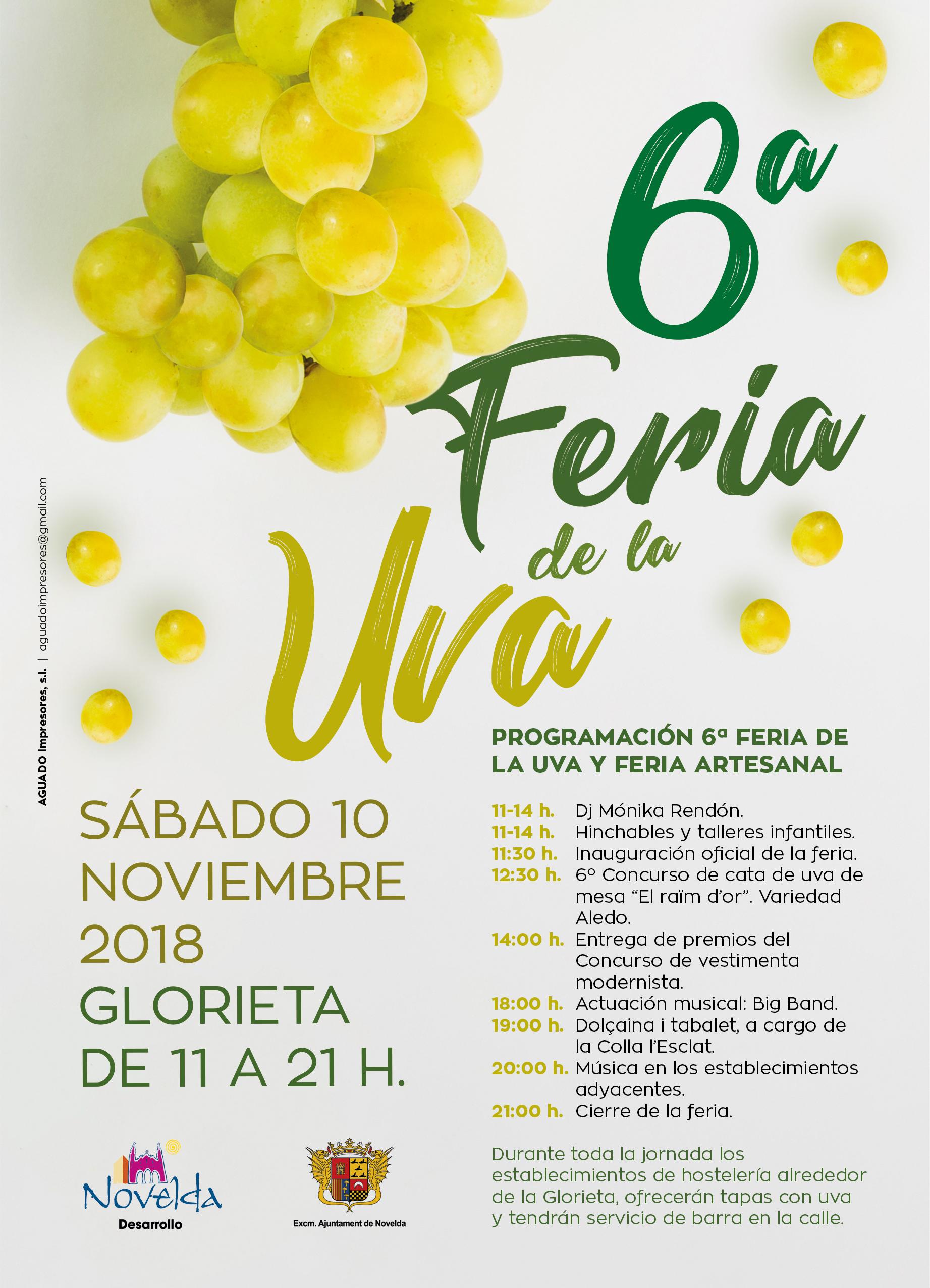 Feria de la uva Novelda 2018