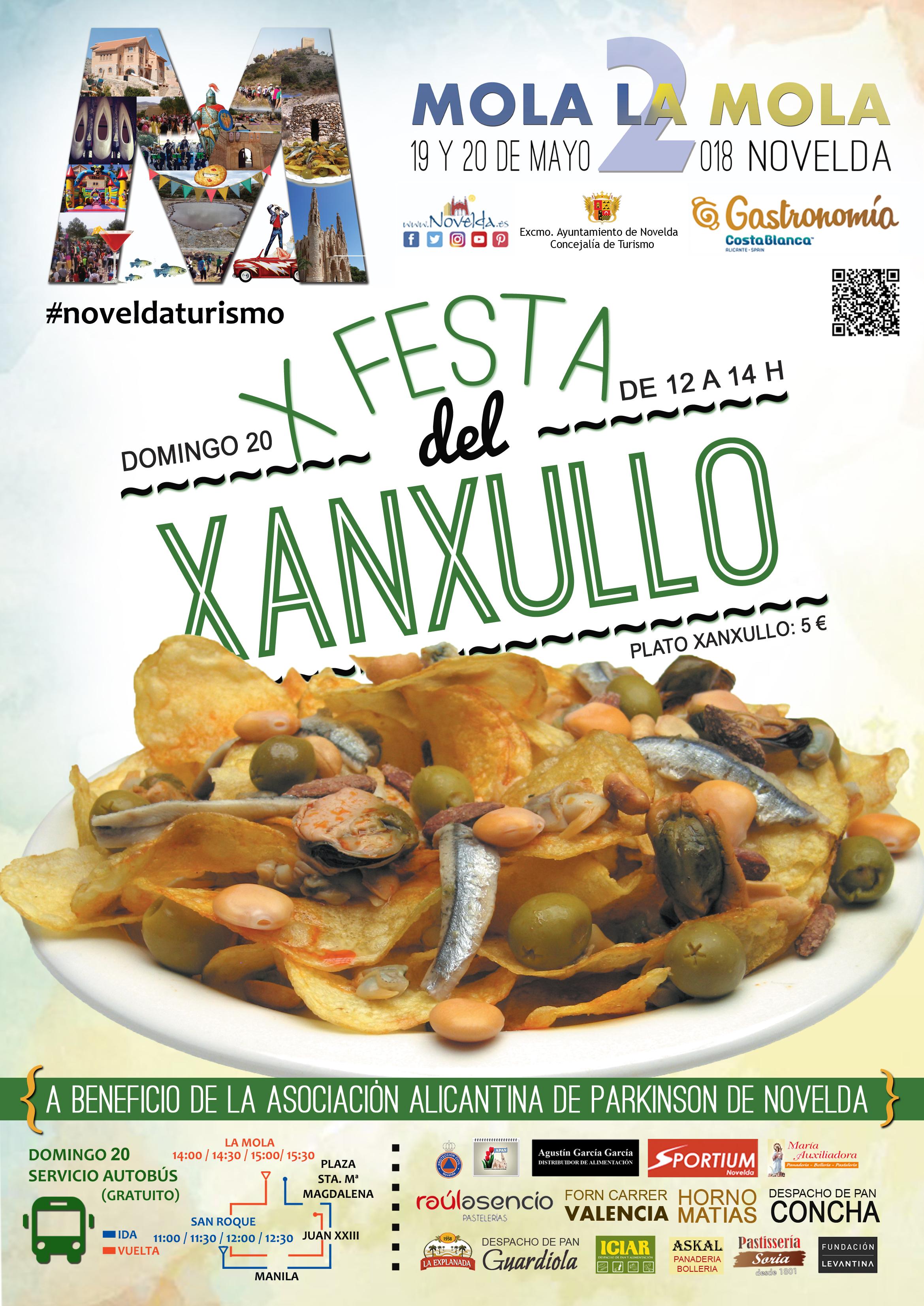 Festa Xanxullo Novelda 2018