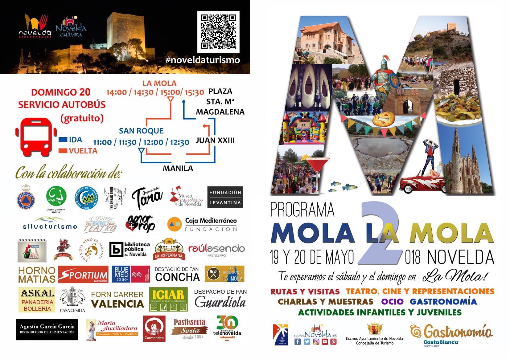 PROGRAMACION EXTERIOR MOLA Novelda LA MOLA 2018
