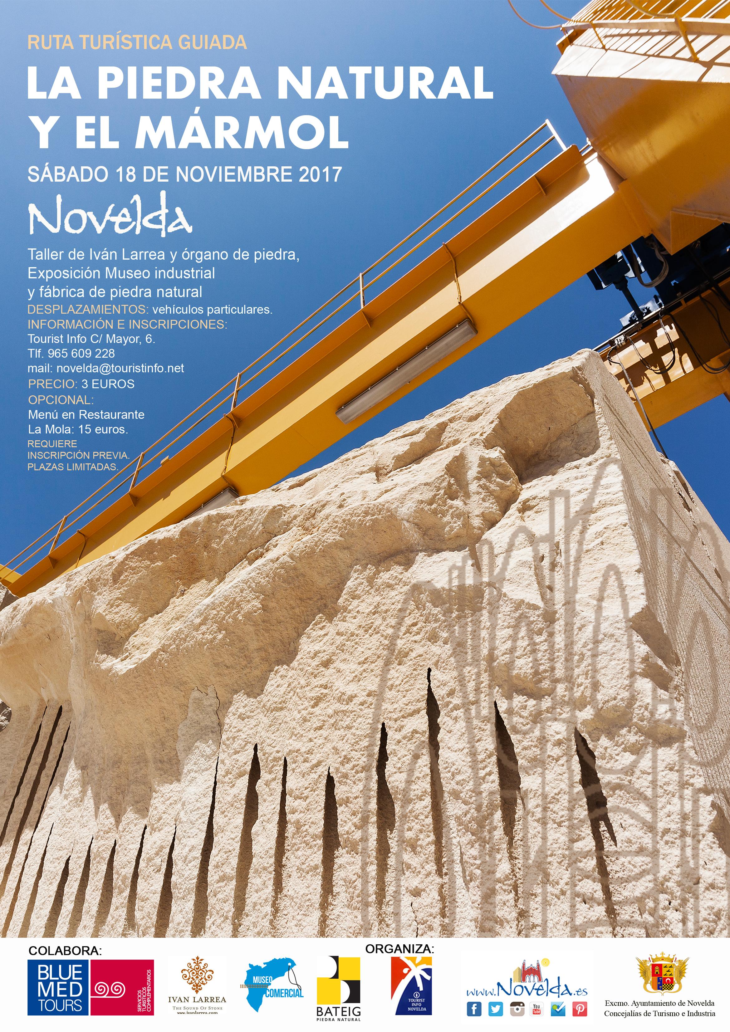 RUTA INDUSTRIAL Novelda 18 de noviembre 2017