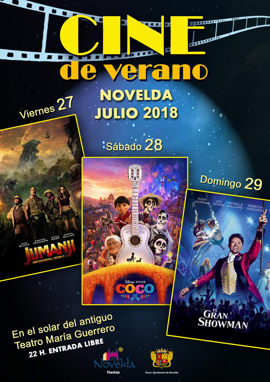 cine de verano 2018