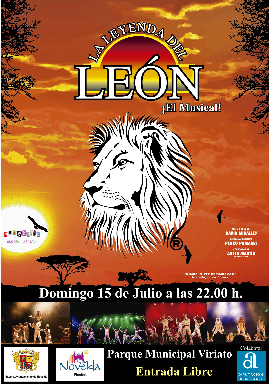 la leyenda del león .xar novelda